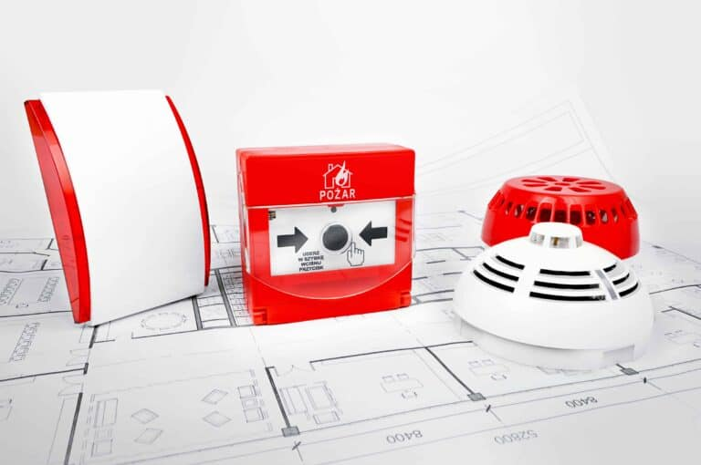 Installation alarme incendie type 4